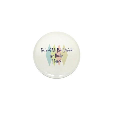 Bridge Players Friends Mini Button (10 pack)