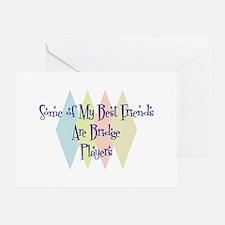 Bridge Players Friends Greeting Card