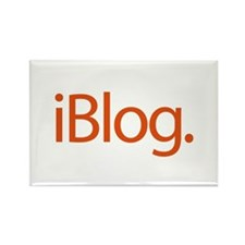 iBlog Ipod Style Blogger Rectangle Magnet (10 pack