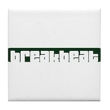 breakbeat Tile Coaster