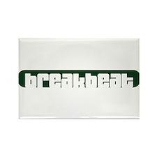breakbeat Rectangle Magnet