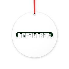 breakbeat Ornament (Round)