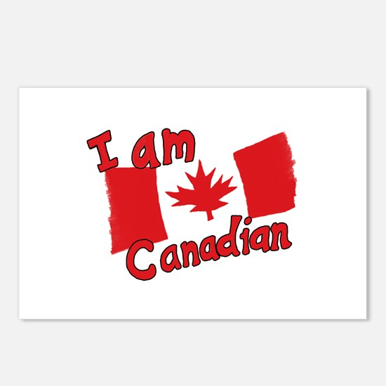 I Am Canadian Postcards (Package of 8)