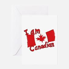 I Am Canadian Greeting Card