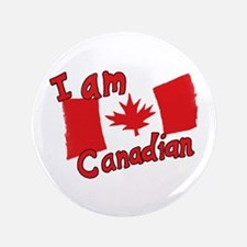 "I Am Canadian 3.5"" Button"