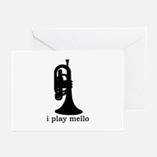 I Play Mello Greeting Cards (Pk of 10)