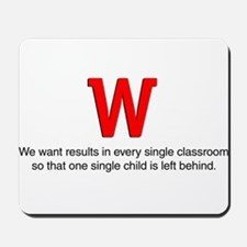 We want results in... Mousepad