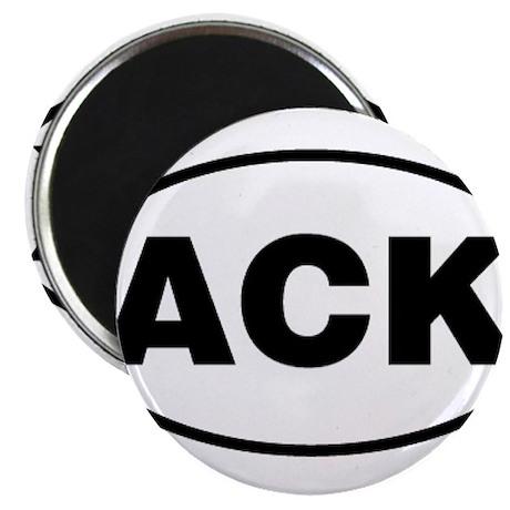 Nantucket ACK Gear Magnet