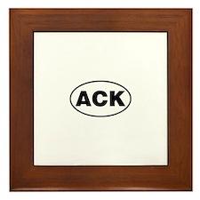 Nantucket ACK Gear Framed Tile