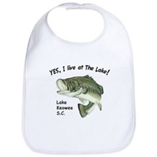 Lake Keowee SC bass Bib
