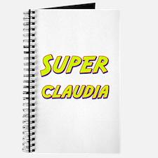 Super claudia Journal