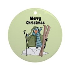 Personalized Christmas Ornament (Oval)