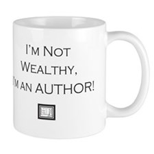 not wealthy logo Mugs