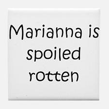 Unique Marianna Tile Coaster