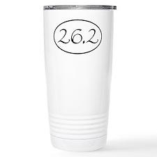 26.2 Marathon Oval Travel Mug