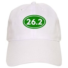 Green 26.2 Marathon Runner Baseball Cap