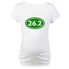 Green 26.2 Marathon Runner Shirt