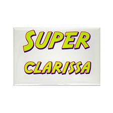 Super clarissa Rectangle Magnet