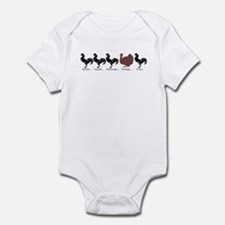 Unique Turkey day Infant Bodysuit