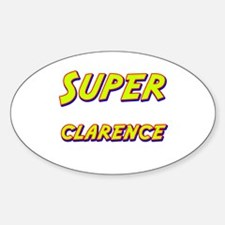 Super clarence Oval Decal