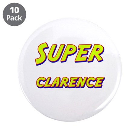"Super clarence 3.5"" Button (10 pack)"