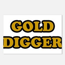 Gold Digger Postcards (Package of 8)