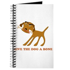 Give the Dog a Bone Journal