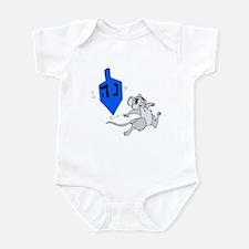 Mouse & Dreidel Infant Bodysuit