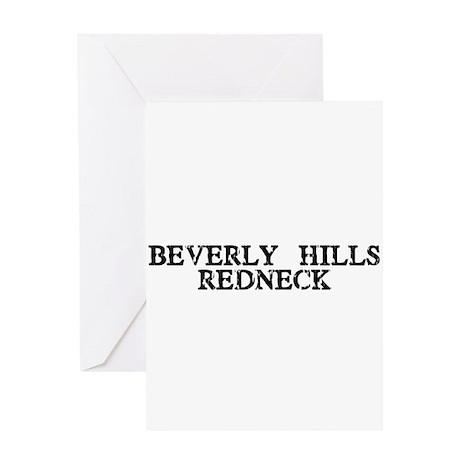 Beverly Hills Redneck Greeting Card