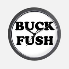 Buck Fush Wall Clock