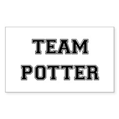 Team Potter Rectangle Sticker 10 pk)