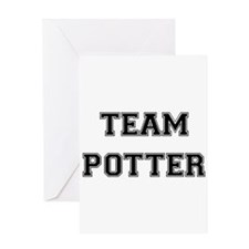 Team Potter Greeting Card