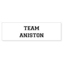 Team Aniston Bumper Sticker (10 pk)