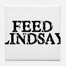 Feed Lindsay Tile Coaster