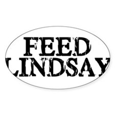 Feed Lindsay Oval Decal