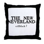 The New Neverland Throw Pillow