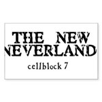 The New Neverland Rectangle Sticker 50 pk)