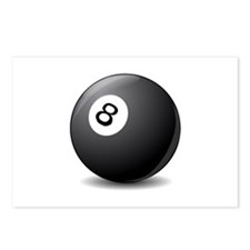 eight ball Postcards (Package of 8)