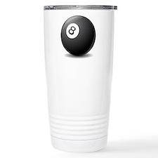 eight ball Travel Mug