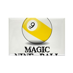 Magic Nine Ball Rectangle Magnet (10 pack)