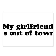 My Girlfriend is out of town Postcards (Package of