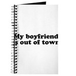 My Boyfriend is out of town Journal