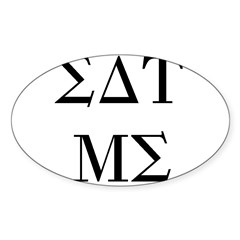 Eat Me Oval Decal