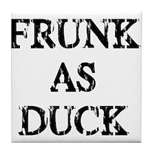 Frunk as Duck Tile Coaster
