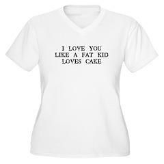 Fat Kid Loves Cake T-Shirt