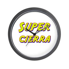 Super cierra Wall Clock
