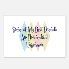 Biomedical Engineers Friends Postcards (Package of