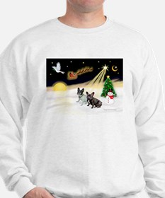 Night Flight/2 Fr Bulldogs Sweatshirt
