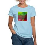 Crystal Art Women's Pink T-Shirt