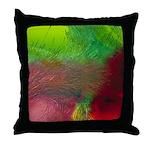 Crystal Art Throw Pillow